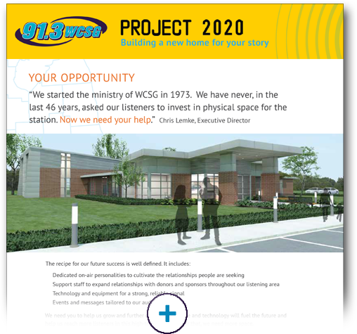 Project 2020 Information